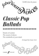 Classic Pop Ballads - Partition - Chœur - laflutedepan.com