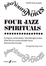 4 Jazz Spirituals - Partition - Chœur - laflutedepan.com
