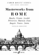 Masterworks from Rome Partition Chœur - laflutedepan.com