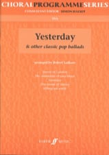 Yesterday and Other Classics Pop Ballads Partition laflutedepan.com