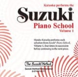 Suzuki - Suzuki Piano Method CD Volume 1. - Sheet Music - di-arezzo.co.uk