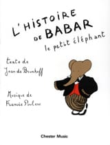 Francis Poulenc - The Babar Story - Sheet Music - di-arezzo.com
