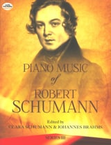 Piano Music Volume 3 Robert Schumann Partition laflutedepan.com