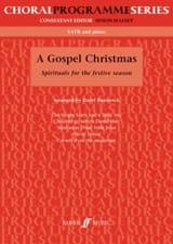 A Gospel Christmas Partition Chœur - laflutedepan.com