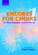 Encores For Choirs Partition Chœur - laflutedepan.com