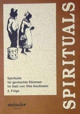 Spirituals Volume 2 - Partition - Chœur - laflutedepan.com