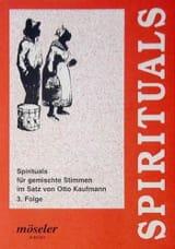 Spirituals Volume 3 Partition Chœur - laflutedepan.com