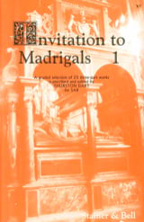 - Invitation To Madrigals Volume 1 - Partition - di-arezzo.fr