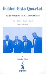 Golden Gate Quartet Volume 1 Alan Wilson Partition laflutedepan.com