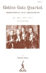 Alan Wilson - Golden Gate Quartet Volume 2 - Partition - di-arezzo.fr
