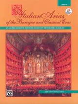 Italian Arias Of The Baroque And Classical Eras Voix Medium laflutedepan.com