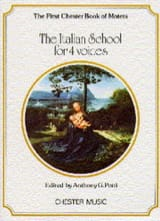 The Italian School For 4 Voices Partition Chœur - laflutedepan.com