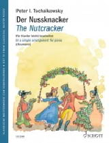 Der Nussknacker Opus 71 TCHAIKOWSKY Partition Piano - laflutedepan.com