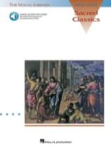 Sacred Classics. Voix haute Partition Mélodies - laflutedepan.com