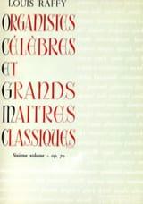 Organistes Célèbres et Grands Maîtres Classiques Volume 6 - laflutedepan.com