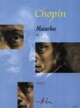 4 Mazurkas Opus 67 Frédéric Chopin Partition Piano - laflutedepan.com