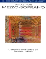 Opera Anthology : Arias Pour Mezzo Partition laflutedepan.be