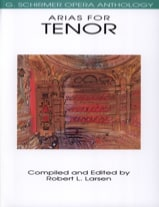 - Opera Anthology : Arias Pour Ténor - Partition - di-arezzo.ch