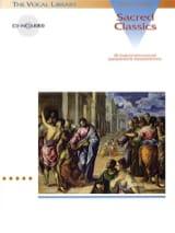 - Sacred Classics. Voix Grave - Partition - di-arezzo.fr