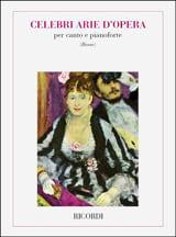 Celebri Arie d'opera. Basse Partition Recueils - laflutedepan.com