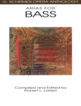 Opera Anthology : Arias Pour Basse Partition laflutedepan.com