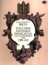 BACH - Toccatas, Fantasias, Passacaglia... - Partition - di-arezzo.fr