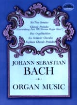 BACH - Organ Music - Partition - di-arezzo.fr