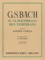 Le Clavier Bien Tempéré Volume 1 - laflutedepan.com