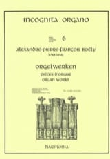 7 Pièces D'orgue Alexandre Pierre François Boëly laflutedepan.com