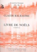 Claude-Bénigne Balbastre - Livre de Noëls Volume 3 - Partition - di-arezzo.fr