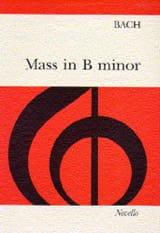 Messe En Si M Bvw 232 BACH Partition Chœur - laflutedepan.com