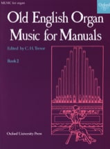 Old English Organ Music For Manuals 2 Partition laflutedepan.com