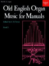 Old English Organ Music For Manuals 3 Partition laflutedepan.com
