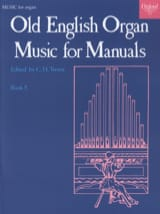 Old English Organ Music For Manuals 5 Partition laflutedepan.com