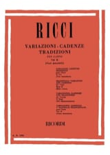 Luigi Ricci - Variations. Cadences. Traditions Volume 2 - Partition - di-arezzo.fr