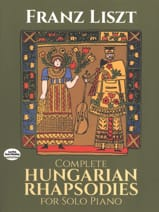 Hungarian Rhapsodies - Franz Liszt - Partition - laflutedepan.com