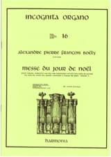 Alexandre Pierre François Boëly - Messe Du Jour De Noël - Partition - di-arezzo.fr