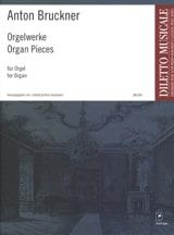 Anton Brückner - Oeuvres Pour Orgue - Partition - di-arezzo.fr