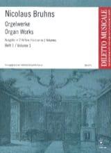 L'oeuvre D'orgue Volume 1 - Nicolaus Bruhns - laflutedepan.com