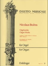 Nicolaus Bruhns - L'oeuvre D'orgue Volume 2 - Partition - di-arezzo.fr