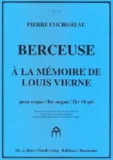 Berceuse Pierre Cochereau Partition Orgue - laflutedepan.com