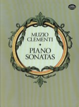 Muzio Clementi - sonatas - Sheet Music - di-arezzo.co.uk