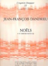 Jean-François Dandrieu - Noëls Livre 4 - Partition - di-arezzo.fr