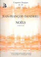 Noëls Livre 3 Jean-François Dandrieu Partition laflutedepan.com