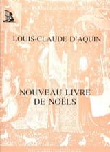 Nouveau Livre de Noëls Louis-Claude Daquin Partition laflutedepan.com