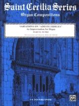 Variations sur Adeste Fideles - Marcel Dupré - laflutedepan.com