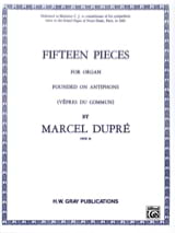 Marcel Dupré - 15 Pieces Opus 18 - Sheet Music - di-arezzo.com