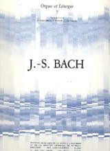 6 Chorals BACH Partition Orgue - laflutedepan.com