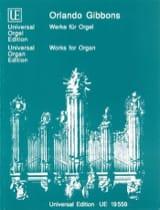 Oeuvres Pour Orgue - Orlando Gibbons - Partition - laflutedepan.com