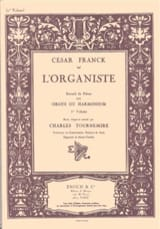L'Organiste Volume 1 FRANCK Partition Orgue - laflutedepan